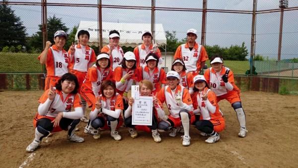 マスターズ女子県予選優勝チーム