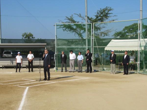 第38回石川県早朝選手権大会 開会式の模様3