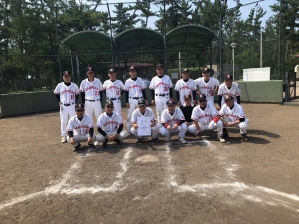 第14回全日本ハイシニア大会 県予選 準優勝チーム<白山クラブ>