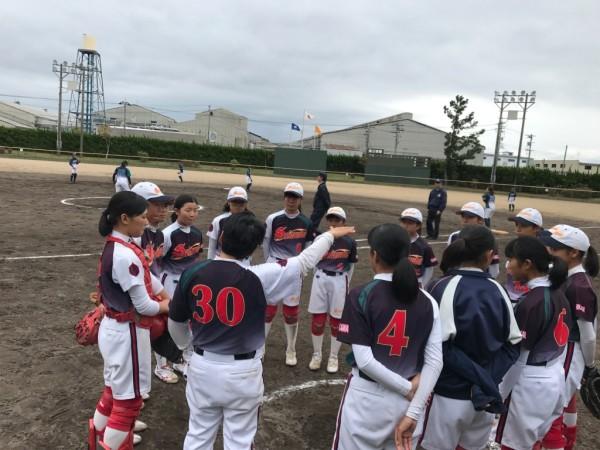 第31回石川県中学校秋季新人大会 決勝戦の模様2