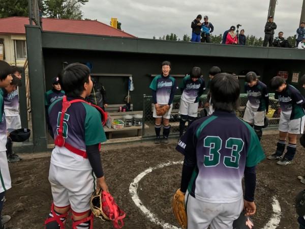 第31回石川県中学校秋季新人大会 決勝戦の模様3