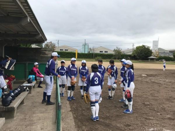 第31回石川県中学校秋季新人大会 第三代表決定戦の模様1