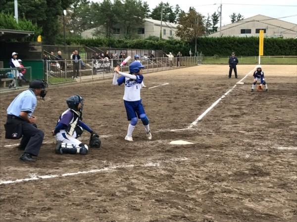 第31回石川県中学校秋季新人大会 第三代表決定戦の模様2