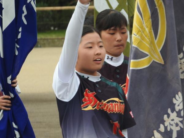 第31回石川県中学校秋季新人大会 開会式の模様2