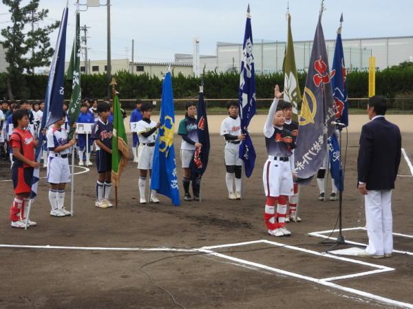 第31回石川県中学校秋季新人大会 開会式の模様3