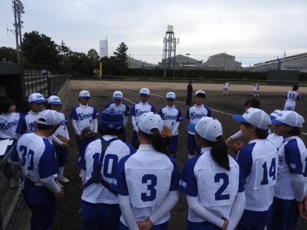 第31回石川県中学校秋季新人大会 1回戦(金石対北星戦)3