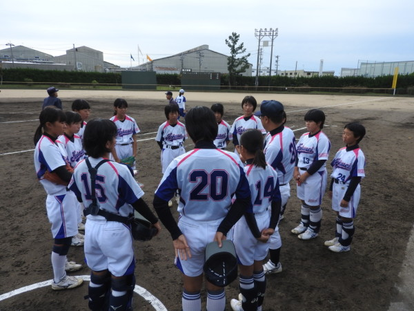 第31回石川県中学校秋季新人大会 1回戦(金石対北星戦)4