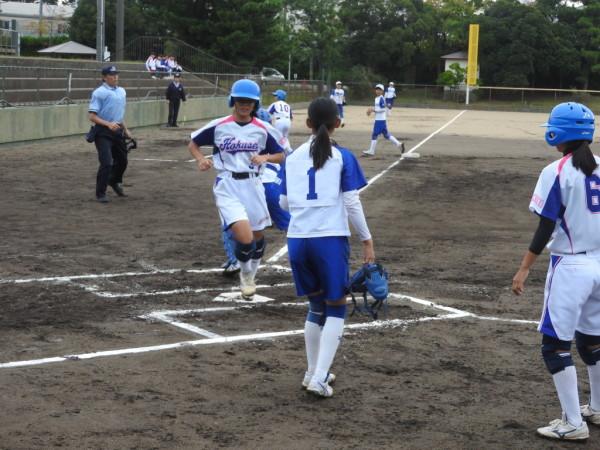 第31回石川県中学校秋季新人大会 1回戦(金石対北星戦)6