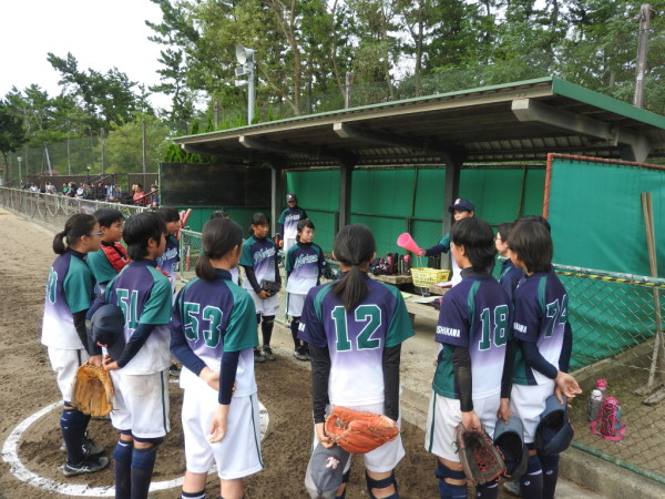第31回石川県中学校秋季新人大会 1回戦(門前対森本戦)3