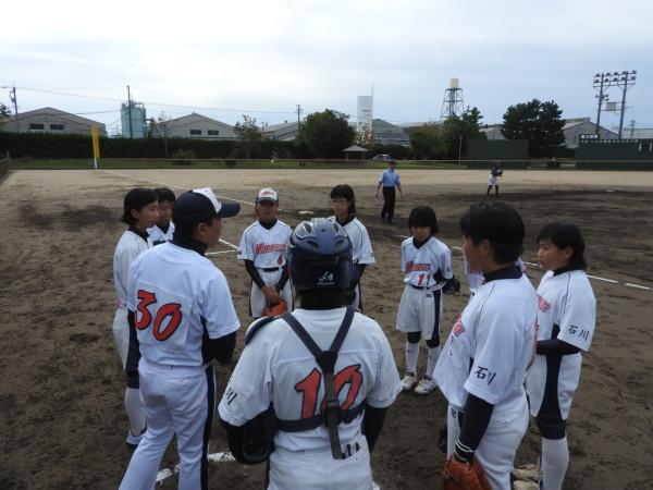 第31回石川県中学校秋季新人大会 1回戦(門前対森本戦)4