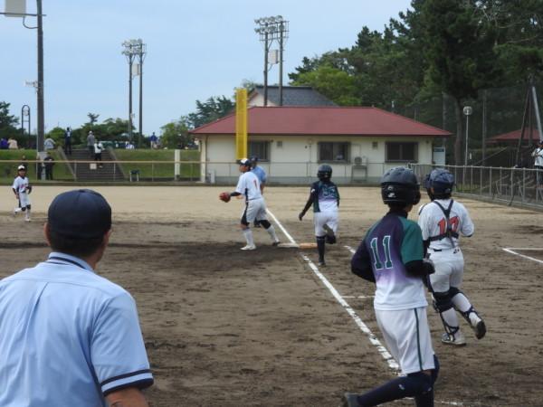 第31回石川県中学校秋季新人大会 1回戦(門前対森本戦)8