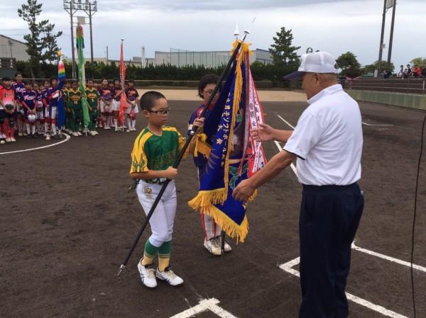 第32回北信越小学生男女大会県予選 開会式の模様3