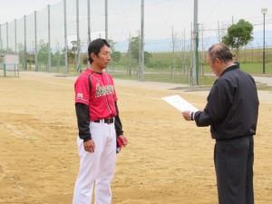 第41回石川県男子選手権大会 閉会式の模様1