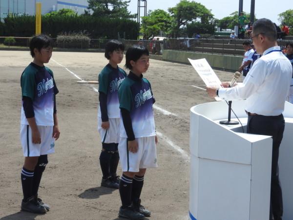 第67回石川県中学校大会 閉会式の模様4