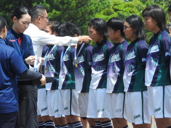 第67回石川県中学校大会 閉会式の模様8.1