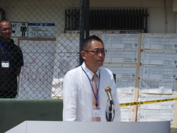 第67回石川県中学校大会 閉会式の模様8