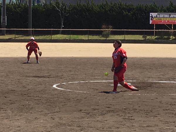 2019日本リーグ第一試合の模様1
