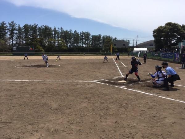 2019日本リーグ第一試合の模様8