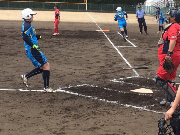 2019日本リーグ第一試合の模様4.21 2