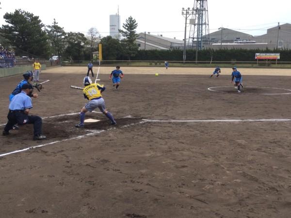 2019日本リーグ第一試合の模様4.21 3