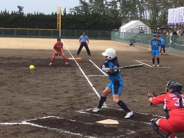 2019日本リーグ第一試合の模様4.21 4