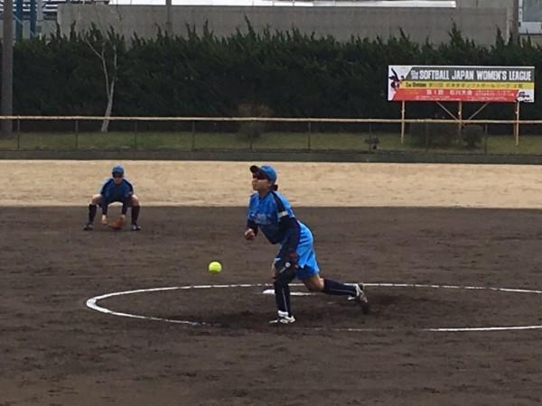 2019日本リーグ第一試合の模様4.21 5