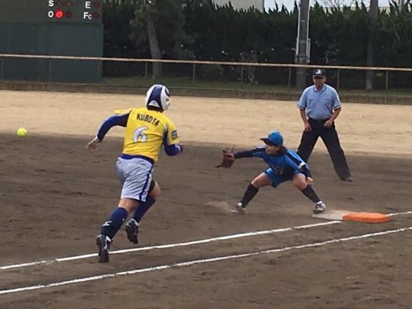 2019日本リーグ第一試合の模様4.21 6