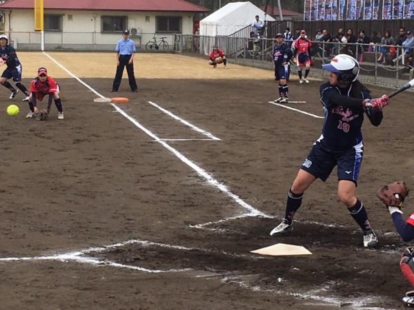 2019日本リーグ第一試合の模様4.21 9