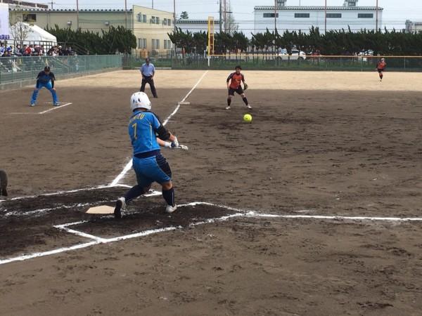2019日本リーグ第2試合の模様4.21 1