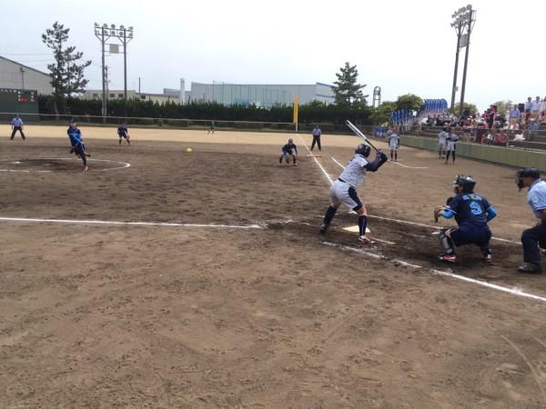 2019日本リーグ第2試合の模様4.21 10