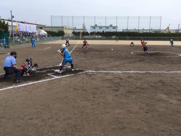 2019日本リーグ第2試合の模様4.21 4