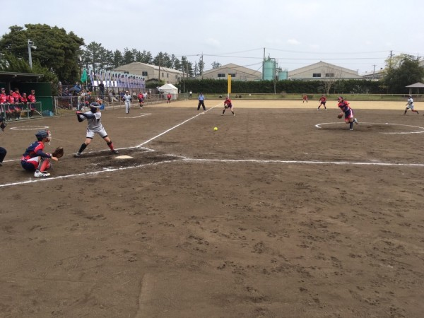 2019日本リーグ第2試合の模様4.21 8