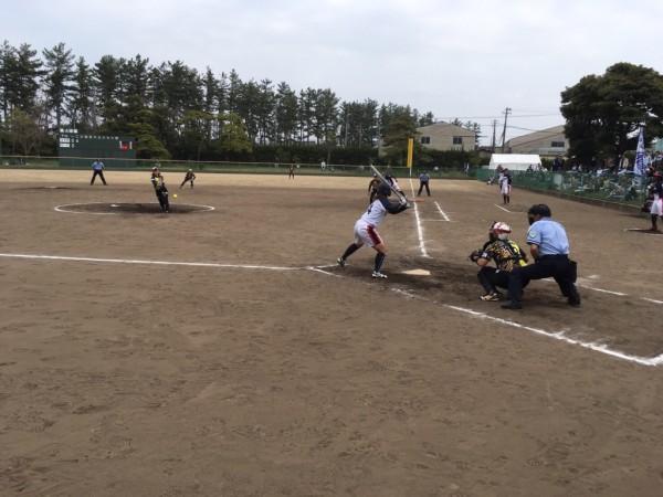 2019日本リーグ第2試合の模様4.21 9