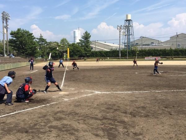 2019第40回全日本クラブ女子選手権大会 決勝戦の模様1