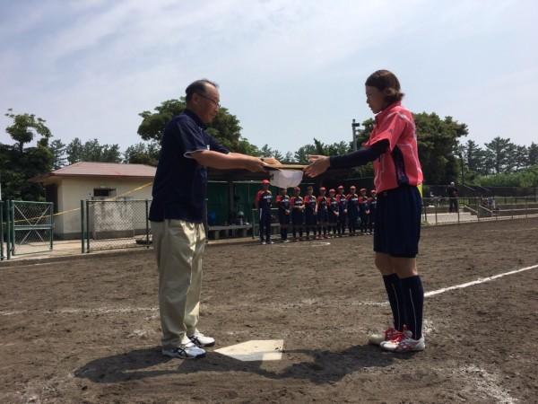 2019第40回全日本クラブ女子選手権大会 第3位表彰式3